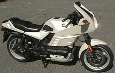 1991 BMW K100RS motorcycle