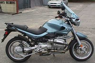 2002 BMW R1150R motorcycle