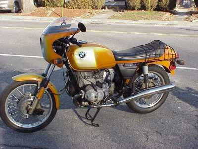 1975 BMW R90S motorcycle