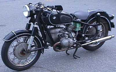 1965 BMW R60/2 motorcycle