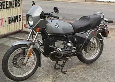 1984 BMW R80ST motorcycle
