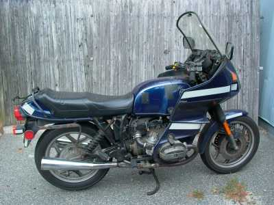 1988 BMW R100RT motorcycle