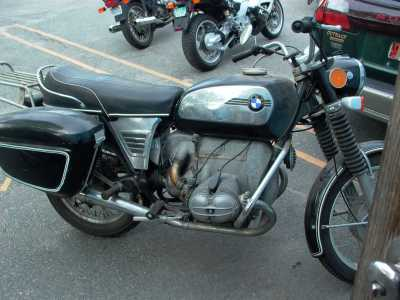 1973 BMW R50/5 motorcycle
