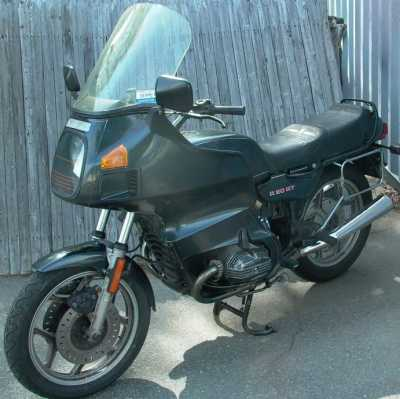 1985 BMW R80RT motorcycle