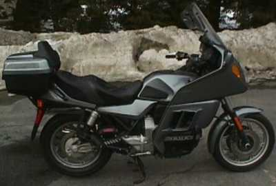 1990 BMW K100LT motorcycle