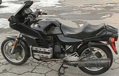1985 BMW K100RS motorcycle