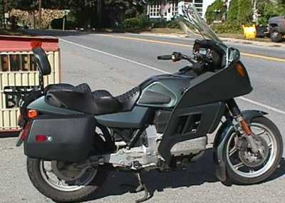 1985 BMW K100RT motorcycle