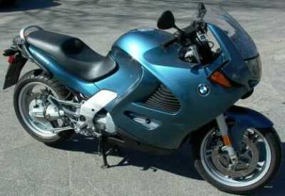 1999 BMW K1200RS motorcycle