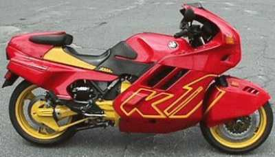 1990 BMW K1 motorcycle