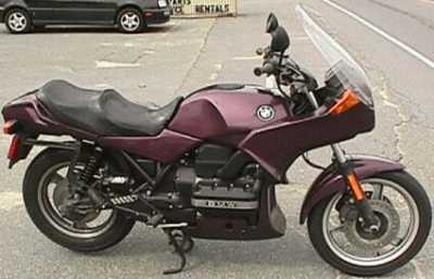 1991 BMW K75S motorcycle