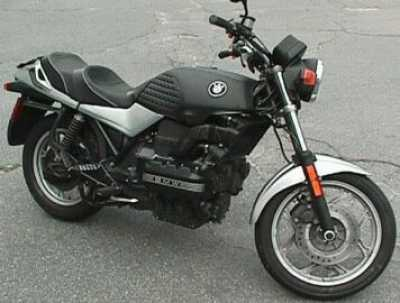 1990 BMW K75 motorcycle