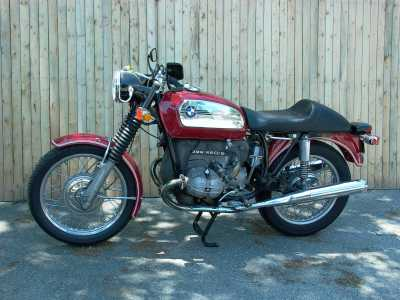 1972 BMW R60/5 motorcycle