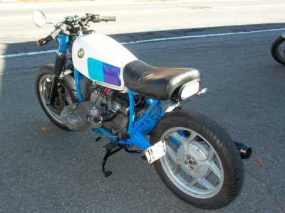 1995 BMW R80 special motorcycle