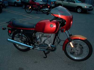 1977 BMW R100S motorcycle