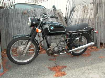 1970 BMW R60/5 motorcycle