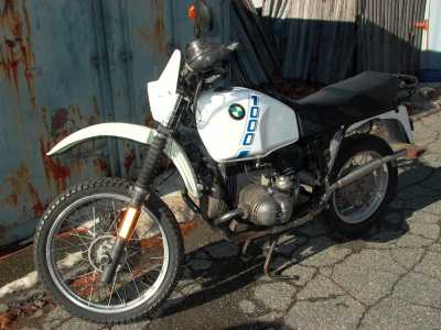 1990 BMW R100GS motorcycle
