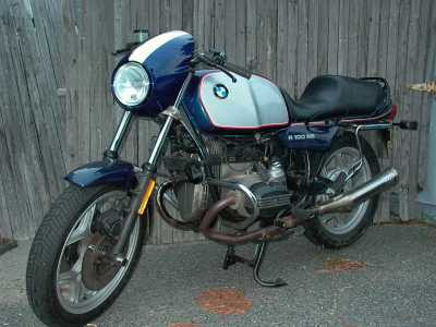 1992 BMW R100RS motorcycle