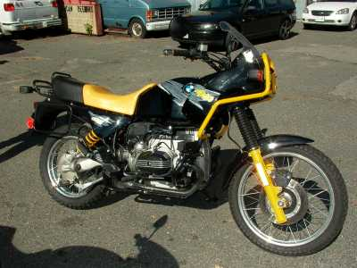 1994 BMW R100GS motorcycle