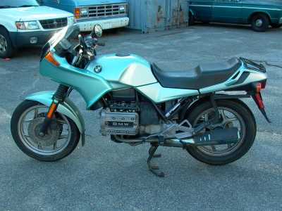 1987 BMW K75S motorcycle