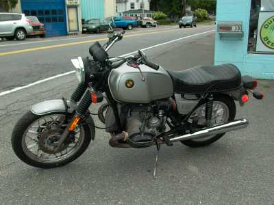 1981 BMW R100 motorcycle