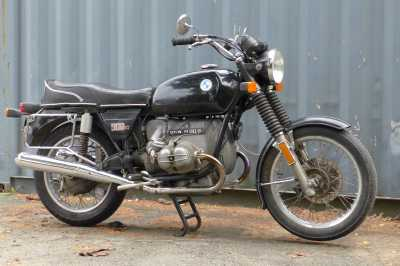 1976 BMW R90/6 motorcycle