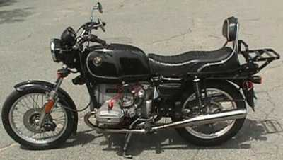 1977 BMW R100/7 motorcycle
