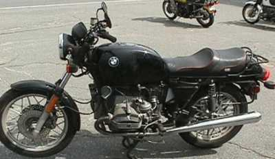 1984 BMW R100 motorcycle