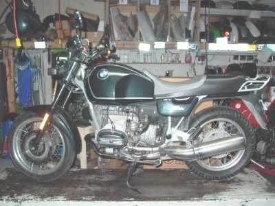 1992 BMW R100R motorcycle