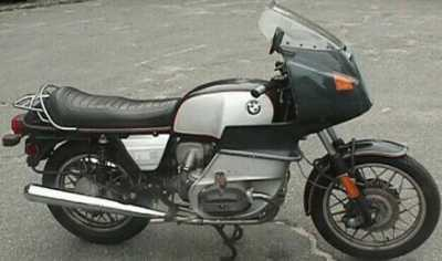 1979 BMW R100RS motorcycle