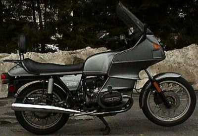 1983 BMW R100RT motorcycle
