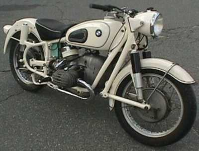 1959 BMW R50 motorcycle