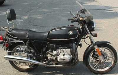 1983 BMW R65 motorcycle