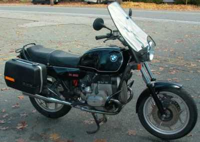 1986 BMW R65 motorcycle