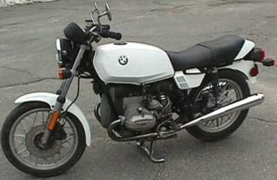 1982 BMW R65 motorcycle