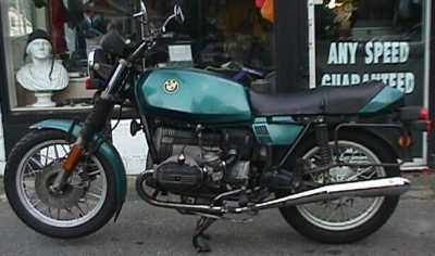 1981 BMW R65 motorcycle