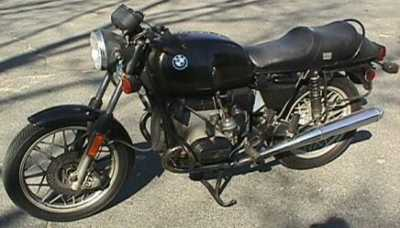1980 BMW R80/7 motorcycle
