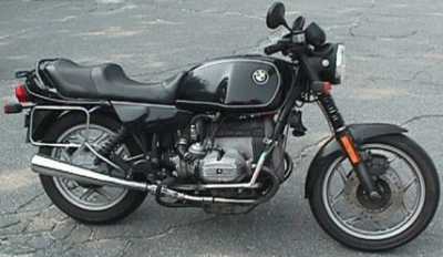 1987 BMW R80 motorcycle