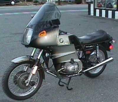 1974 BMW R90S motorcycle