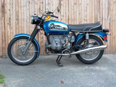 1972 BMW R75/5 motorcycle